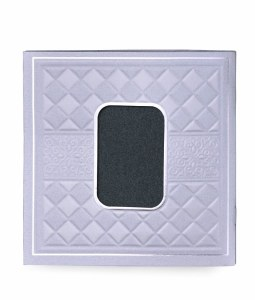 Birchas Hamazon Silver Diamond Design Cover Black Backing Edut Mizrach [Paperback]