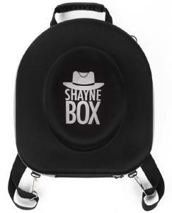 ShayneBox Travel Hat Box Silver