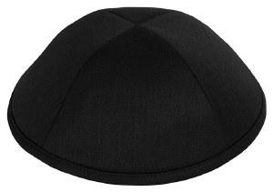 Yarmulka Merino Black Size 2