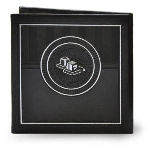 Faux Leather Mirror for Tefillin with Tefillah Edut Mizrach [Hardcover]