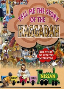 Tell Me The Story of the Haggadah Plastic Pages [Hardcover]