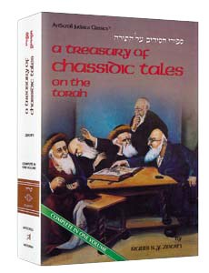 A Treasury Of Chassidic Tales on the Torah [Hardcover]