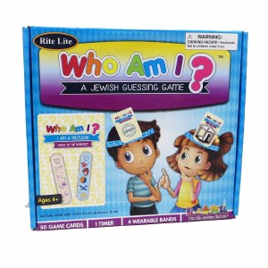 """""""Who Am I?"""" A Jewish Guessing Game"""