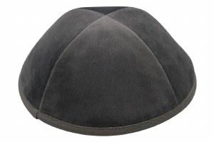iKippah 4 Part Gray Velvet Size 4