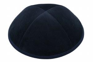 iKippah 4 Part Navy Velvet Size 6