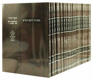 Mishnayos Vilna 19 Volume Set [Paperback]