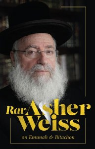Rav Asher Weiss on Emunah & Bitachon [Hardcover]