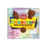 Milk Chocolate Chanukah Mini Chocolates Cholov Yisroel