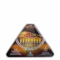 EZ Lite Prefilled Gelled Olive Oil Vials Small Size 1.5 Hour Burntime 44 Pack