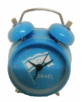 Alarm Clock Israeli Flag Colors