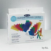 Create Your Own Chanukah Beeswax Candles Kit - Makes 44 Candles