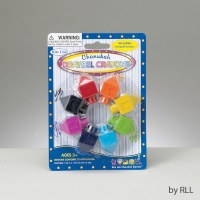 Draydel Shaped Chanukah Crayons Set of 8