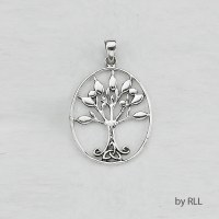 Sterling Pendant Tree of Life Design