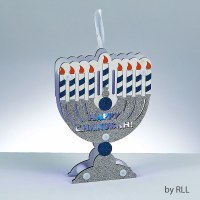 Chanukah Menorah LED Decoration