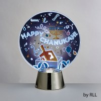 Chanukah LED Light Up Decoration Dreidel Design