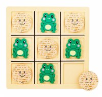 Tic Tac Toad Passover Wood Game