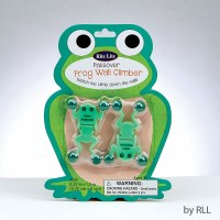 Passover Green Frog Wall Climber