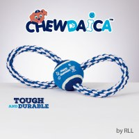 Chewdaica Chanukah Rope Dog Toy