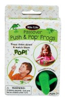 Passover Push & Pop Frogs 4 Pack