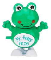 Passover Wind Up Hoppy Frog Toy