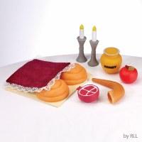 My First Rosh Hashanah Food Play Set 8 Piece