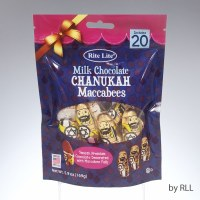 Milk Chocolate Chanukah Maccabees Bag 20 Count