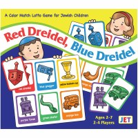Red Dreidel, Blue Dreidel