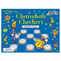 Chanukah Checkers Magnetic Pieces