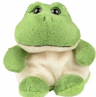 Passover Plush Frog Toy Green 5""