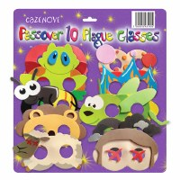 10 Plagues Foam Glasses