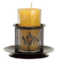 Safety Yahrzeit Candle Holder