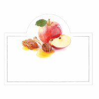 Placecards Apple Dipped in Honey Popout Pack of 12 Cards