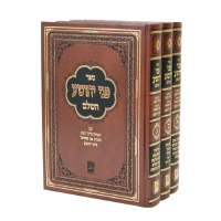 Pnei Yehoshua 3 Volume Set [Hardcover]