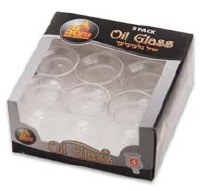 #4 Round Oil Glass - 9 Pack