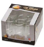 #7 Straight Oil Glass - 9 Pack