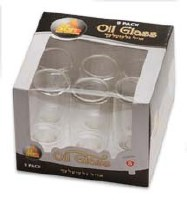 #8 Straight Oil Glass - 9 Pack