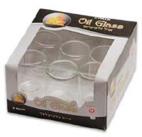 #9 Straight Oil Glass - 9 Pack