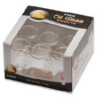 #10 Straight Oil Glass - 9 Pack
