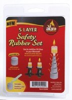 5 Layer Safety Rubbers 9 Sets