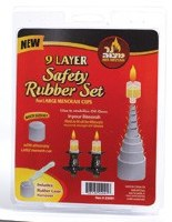 9 Layer Safety Rubbers 9 Sets