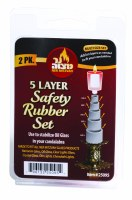 5 Layer Safety Rubbers 2 Sets