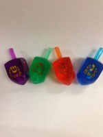 Lucite Medium Dreidel - Assorted Colors - Single Piece
