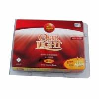 Ohr Lights Liquid Prefilled Olive Oil Vials Large Glasses Burntime 3 Hours 20 Pack