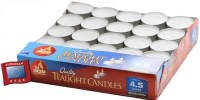 European Travel Tealight Candles - 50 Pack