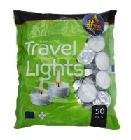 Tea Light 50 Pack Bag - 3 Hour Burn Time