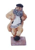 Polyresin Kozachock Dancer Figurine 11cm