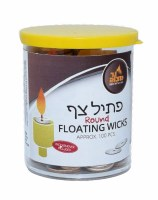 Standard Round Floating Wicks - 100 Pieces