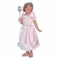 Princess Role Play Purim Costume Set for Ages 3-6