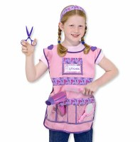 Hair Stylist Role Play Purim Costume Set for Ages 3-6