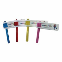 Gragger Happy Purim with Colored Plastic Handle - Assorted Colors